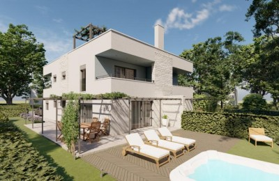 Semi-detached house in Novigrad - under construction