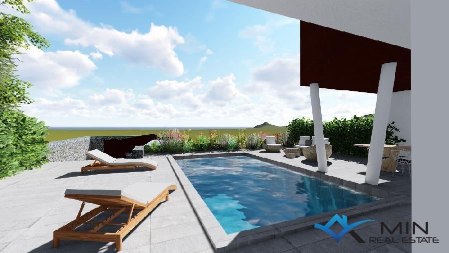 Modernes haus mit pool  Modernes Haus mit Pool in Zambratija (00530) | MIN ...