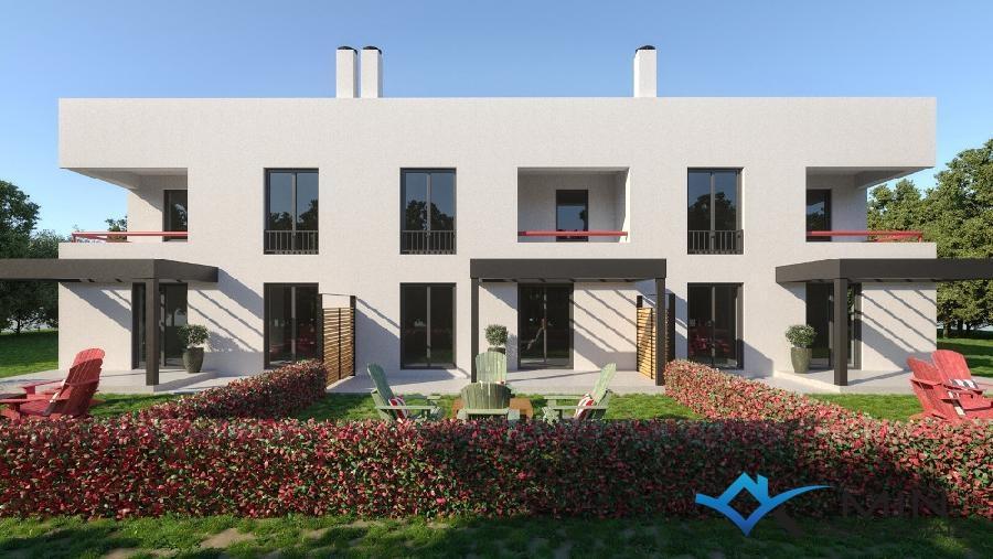 haus mit dachterrasse in novigrad 00522 min immobilienagentur in novigrad istrien. Black Bedroom Furniture Sets. Home Design Ideas