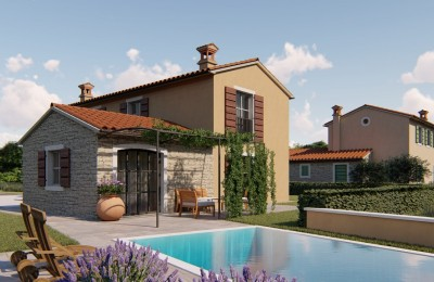 Istrian style house with pool near Buje