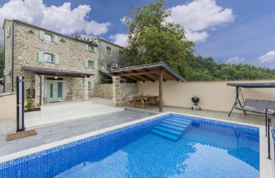 Renovated stone house with swimming pool - Motovun
