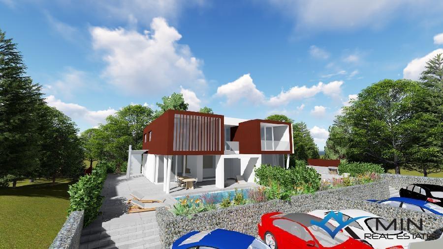 Modernes haus mit pool  Haus mit Pool - Umag (00529) | MIN Immobilienagentur in Novigrad ...